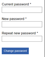 This image shows step 3 of the password changing process